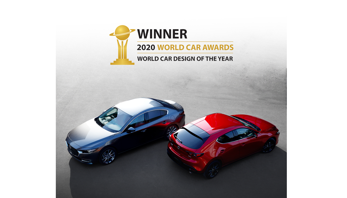 All-new Mazda3 Wins 2020 World Car Design of the Year Award
